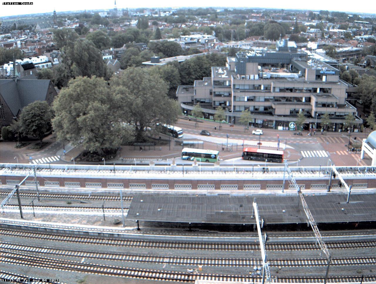 Webcam vanaf het Huis van de Stad